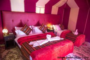 Dormir no deserto do Saara