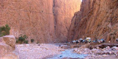 Os Desfiladeiros de Todra