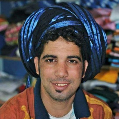 lenço berbere