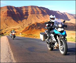Aluguer moto em Marrocos